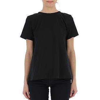 Semi-couture S9pf03y690 Women's Black Cotton T-shirt