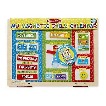 Melissa & Doug My Magnetic Daily Calendar Toy