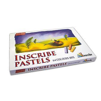 Inscribe Artist Soft Pastels Box Set [64 Colours]
