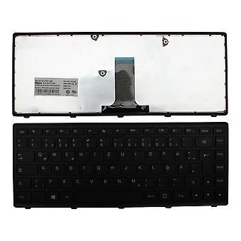 Lenovo Flex marco negro 2 de 14 pulgadas negro Windows 8 diseño alemán repuesto teclado del ordenador portátil
