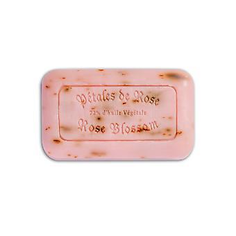 La Provenale - Maison du Midi 100% Ręcznie robione organiczne mydło wegańskie bawełniany kwiat róży z kwiatami 125 g