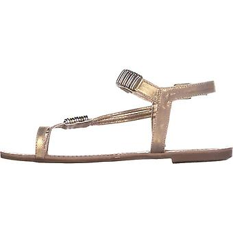 Bar III Womens Vera Fabric Open Toe occasionnels Ankle Strap Sandals