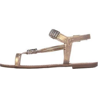 Bar III femei Vera Fabric Open Toe casual glezna curea sandale