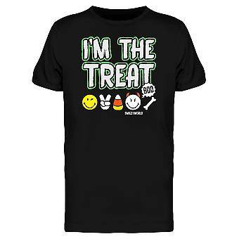 SmileyWorld Halloween I'm The Treat Graphic Men's T-shirt