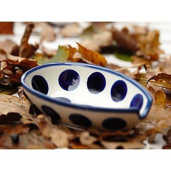 Spoon, 12.5 x 8.5 cm, tradition 28, Upper Lusatia ceramic - BSN 7584