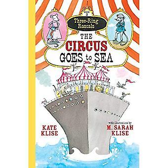Drie-Ring Rascals boek 3 die het Circus naar zee gaat