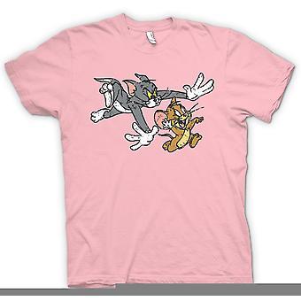Crianças t-shirt - Tom e Jerry - Cartoon retrô clássico mulheres