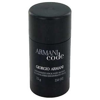 Armani code door Giorgio Armani Deodorant Stick 2,6 oz (mannen) V728-454027