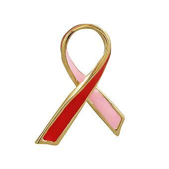 Evig samling håp røde og rosa emalje jakkeslaget Pin brosje
