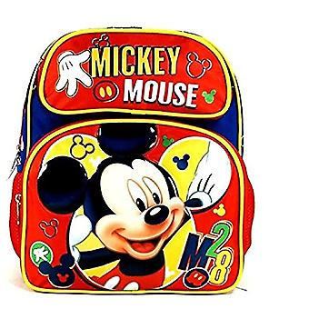 Small Backpack - Disney - Mickey Mouse Red M28 3D 12