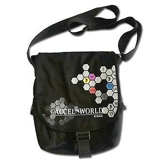 Messenger Bag - Accel World - New Symbol School Bag Anime ge11777