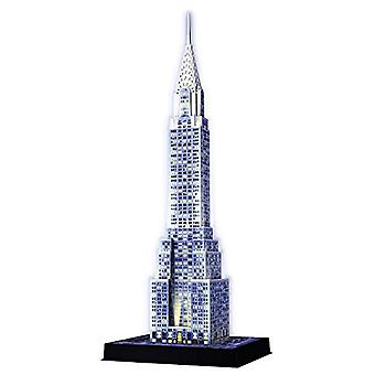 Ravensburger Chrysler Building Night Edition - 216pc 3D Jigsaw Puzzle