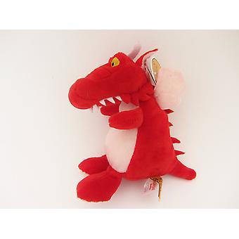 Sala de brinquedo macio de 6 polegadas de dragão a vassoura