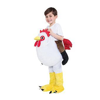 Bristol Novelty Childrens/Kids Chicken Step In Costume