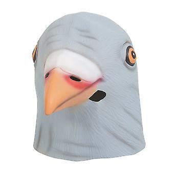 Bristol uutuus Unisex latex Pigeon pään naamio