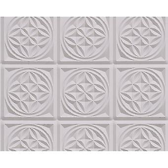 A.S. Creation AS Creation Oslo Tile Pattern Wallpaper Faux Effect Art Deco Kitchen Bathroom 329802