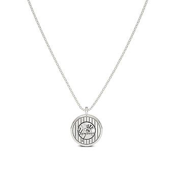 New York Yankees Pendant Necklace In Sterling Silver Design by BIXLER