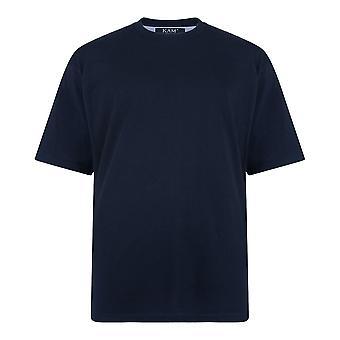 KAM Extra Long Big Mens Quality Plain T-Shirt