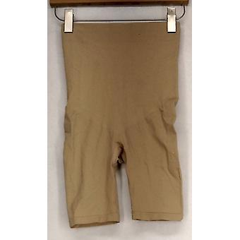 Slanke ' N Lift geïnfundeerd stretch w/Slimming detail shorts beige shaper