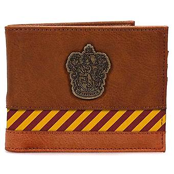 Harry Potter Hogwarts Metal Crest Wallet