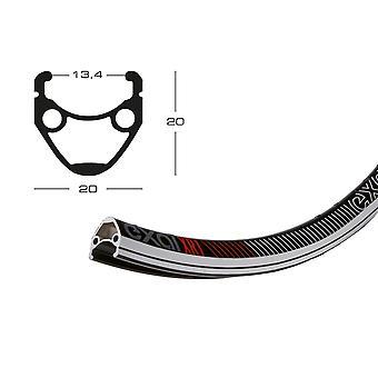 Exal XR 1 bicycle wheel black / / 622-13 (28″)