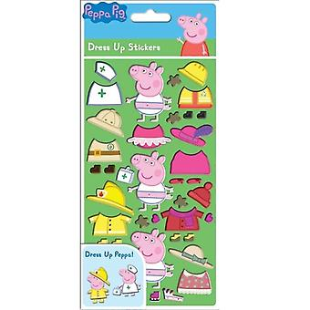 Greta Gris/Peppa Pig, stickers-Costumes