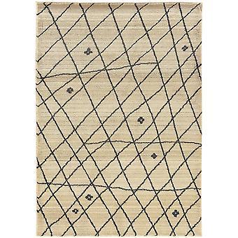 Marrakesh 1442h ivory/brown indoor area rug rectangle 6'7