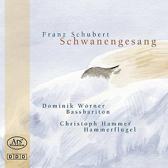 Schubert / Worner / Hammer - Schwanengesang [CD] USA import
