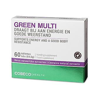 Green Multi Energy & Health Natural Supplement: 60 Capsules