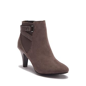 ITALIAN Shoemakers Womens paris1 Fabric Almond Toe Ankle Fashion Boots