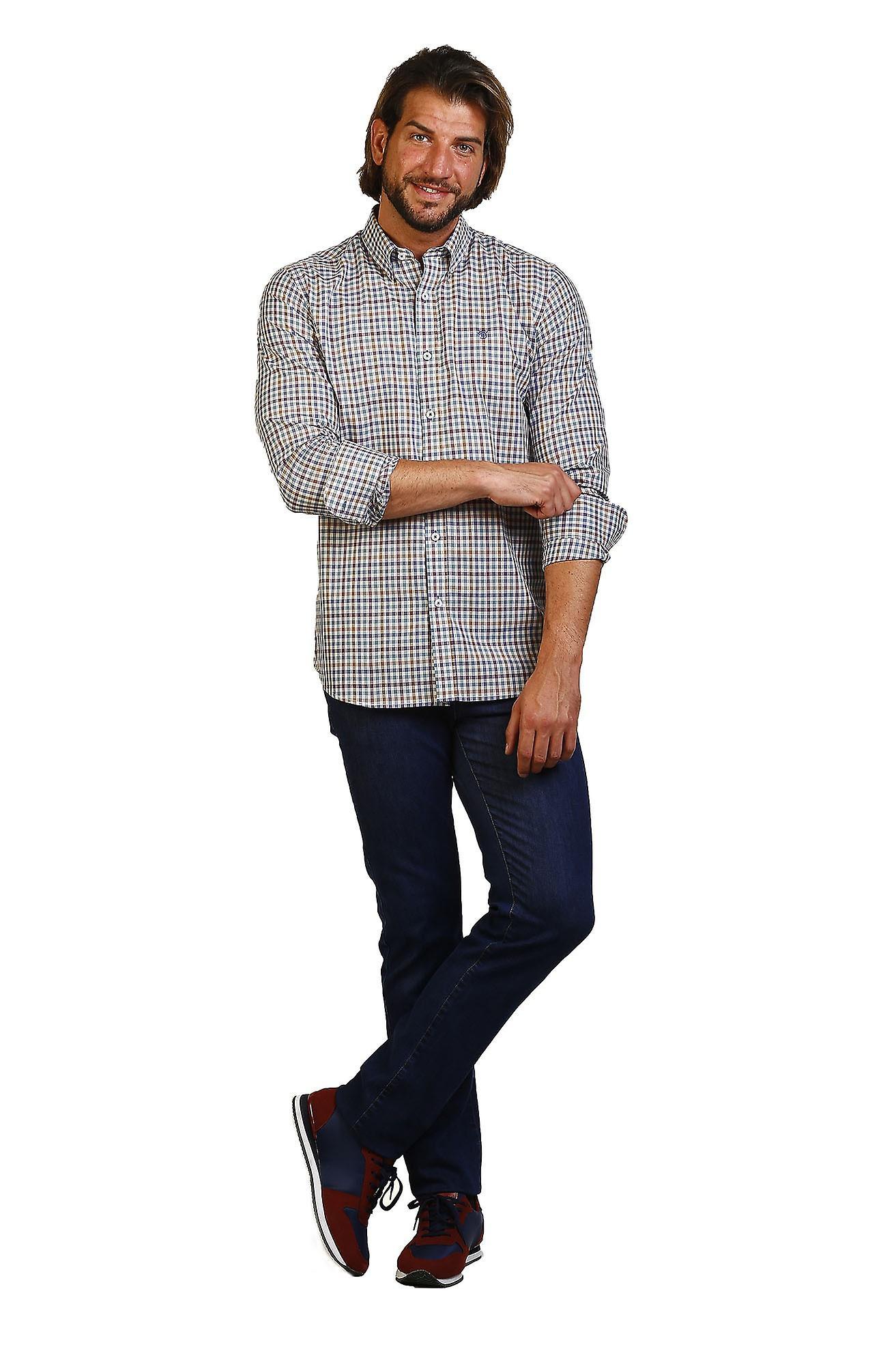 Camisa Hombre The Time Of Bocha JI1COT-231 684