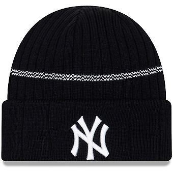New Era Mlb New York Yankees Primary Logo On-field Sport Cuffed Knit