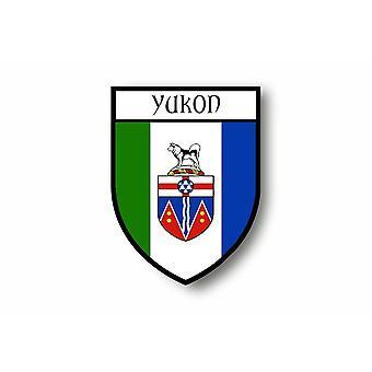 Naklejka Naklejka Naklejka Motocykl Samochód Blason City FlagKanada Yukon