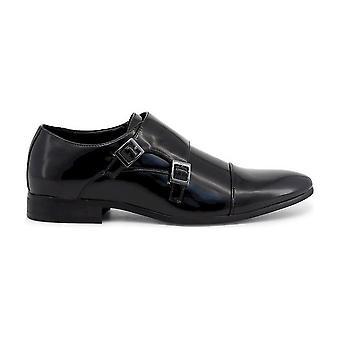 Duca di Morrone - Chaussures - Slipper - JAMES-BLACK - Hommes - Schwartz - 46