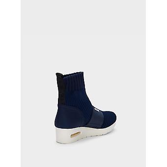 DKNY Womens Anna Hight Top Pull On Fashion Sneakers