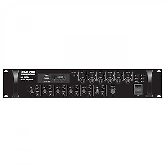 Clever Acoustics Ma240z6 100v 240w Mixer Amplifier 6 Zone
