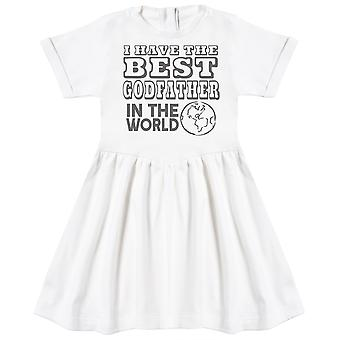 I Have The Best GodFather In The World Baby Dress