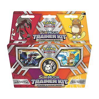 Pokemon-Lycanrocl & Alolan Raichu-zon & maan Trainer Kit