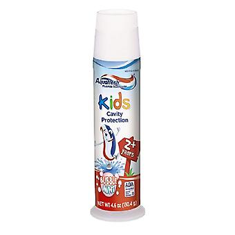 Aquafresh kids cavity protection toothpaste, bubblemint, 4.6 oz