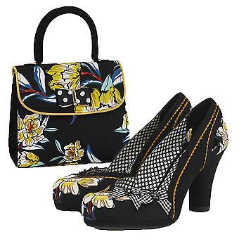Ruby Shoo Women's Livia Platform Court Shoe & Matching Muscat Bag