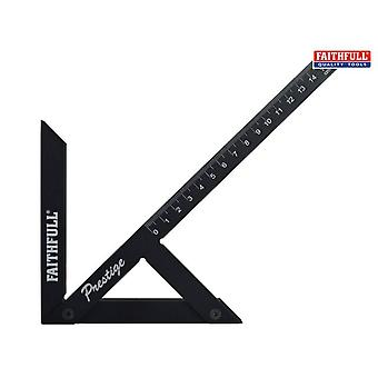Faithfull Prestige Centre Finder Gauge Black Aluminium 150mm
