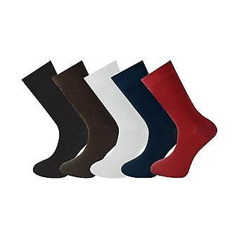 5 Pairs Mens Ankle Socks Multi Selection 004