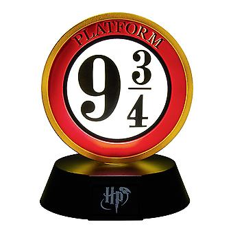 Harry Potter 3D Lamp Icon Light Platform 9 3/4 black/white/red, printed, made of plastic, in gift wrapping.