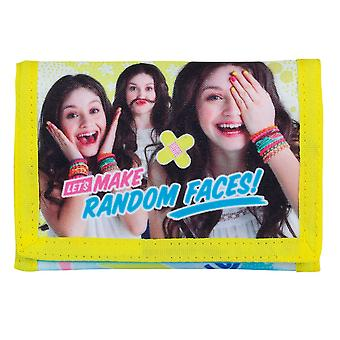 Disney Soy Luna Random Faces Wallet 9x13cm