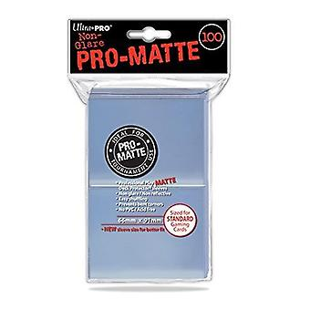 Ultra Pro Matte Matte Clear Standard Deck Protectors (100 أكمام)