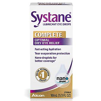 Systane lubricant complete eye drops, conplete, dry eye relief, 10 ml