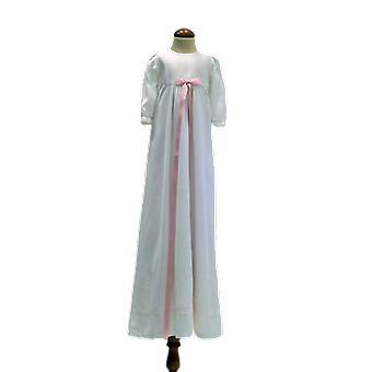 Dopklänning Med Smal Rosa Rosett, Grace Of Sweden Pr.la