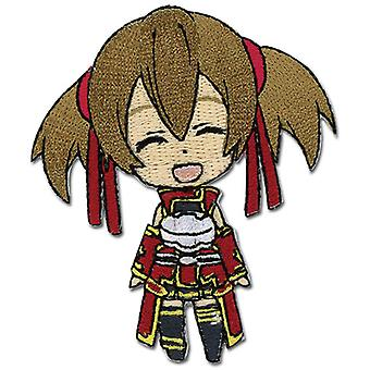 Patch - Sword Art Online - Chibi SD Silica Smile New Anime Licensed ge44103