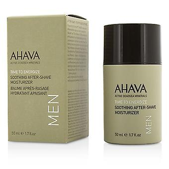 Ahava Time To Energize Soothing After-shave Moisturizer - 50ml/1.7oz