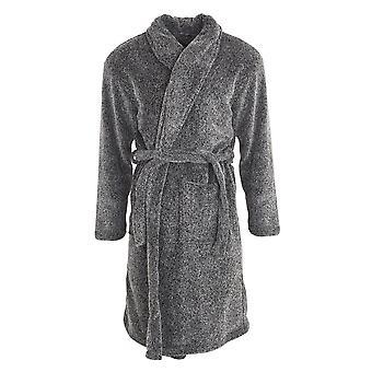 MASQ Mens Fleece Dressing Gown